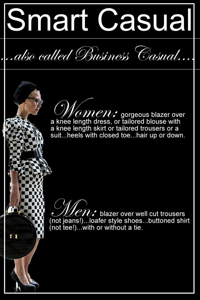 smart casual dress code for restaurants photo - 1