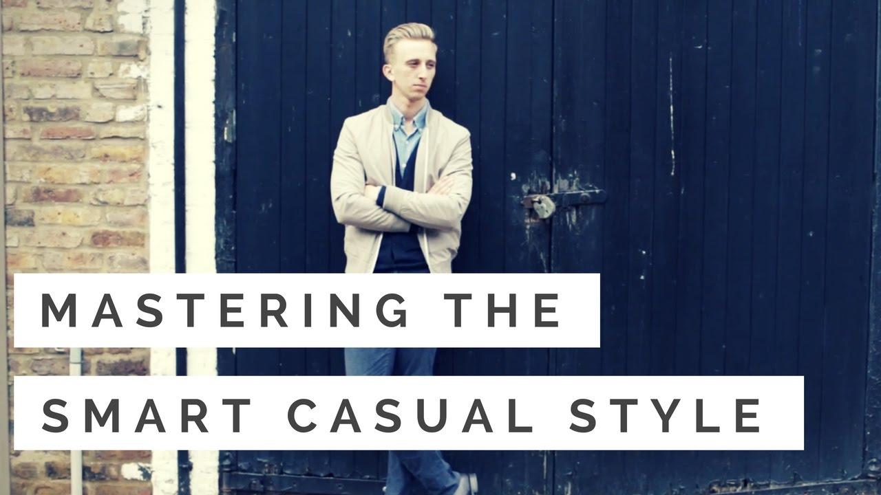 smart casual dress code men photo - 1