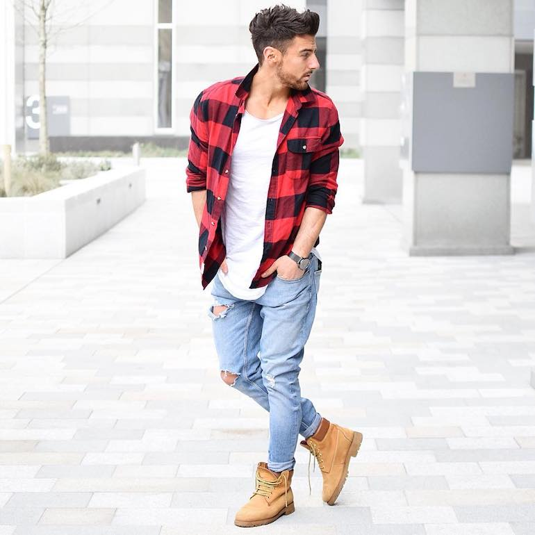 timberland style boots mens photo - 1