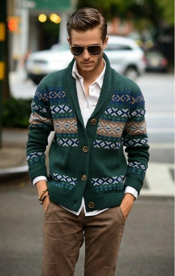 trendy business casual men photo - 1