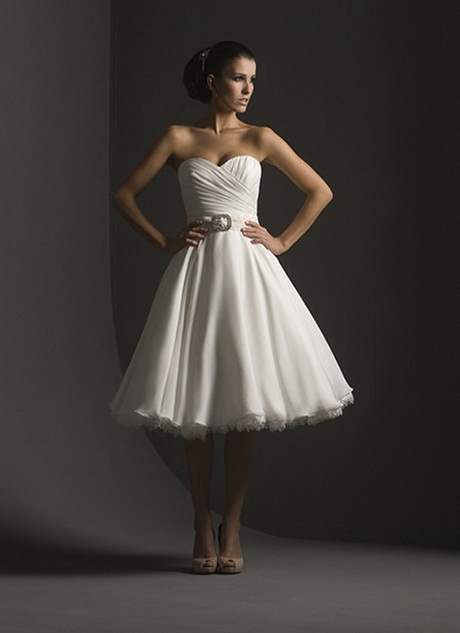 wedding dress for casual wedding photo - 1