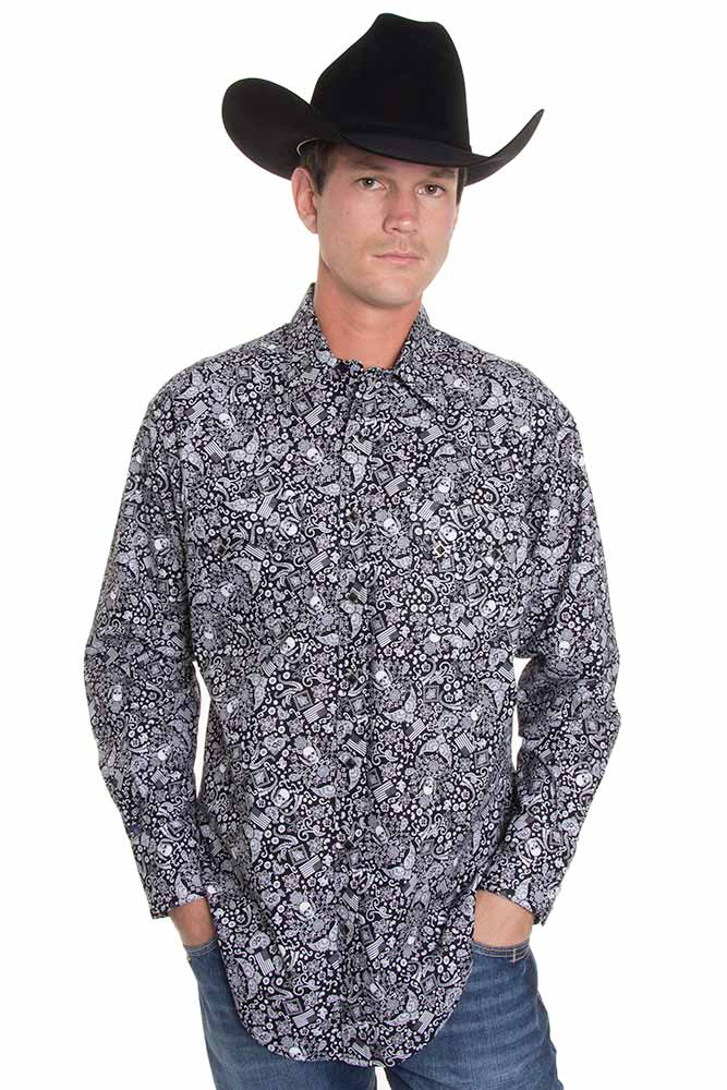 western style mens shirts photo - 1
