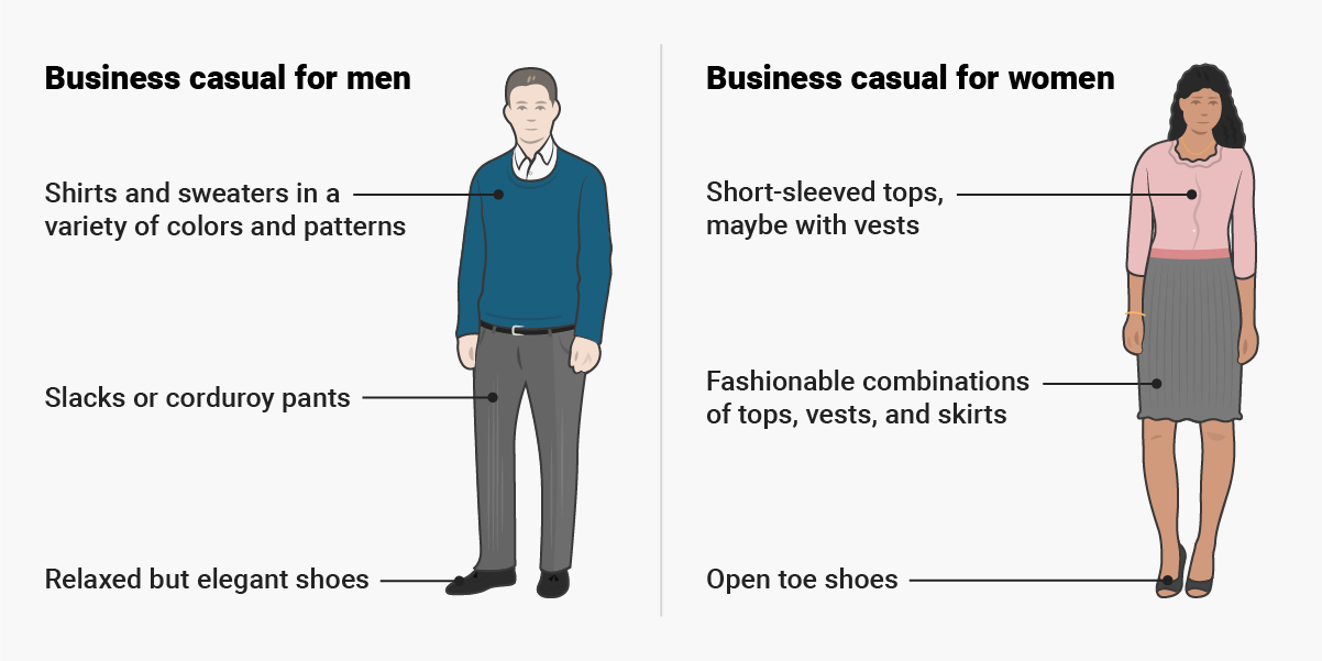 what does business casual attire look like photo - 1